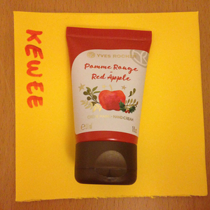 Crème mains à la pomme Yves Rocher